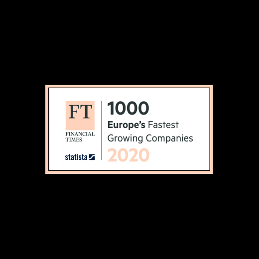 FT 1000 Europe's Fastest Growing Companies 2020