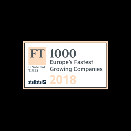 FT 1000 Europe's Fastest Growing 2018 Companies 2018