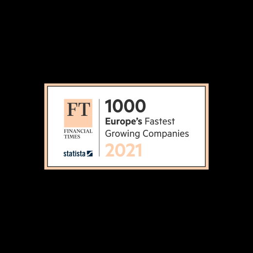 FT 1000 Europe's Fastest Growing Companies 2021